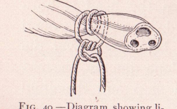 chirurgische knoop navelveter